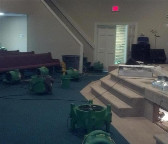 Callahan Church Faces Flooding in Sanctuary After