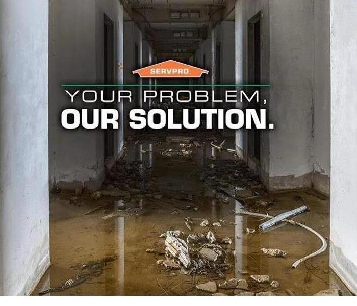 We Handle Commercial Water Damage