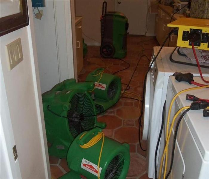 SERVPRO Water Damage Equipment for Drying in Use Yulee, FL