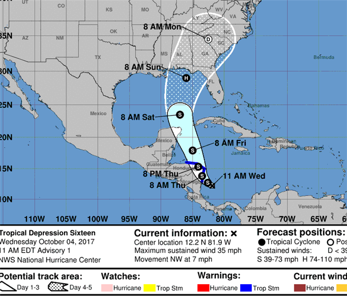 Community Tropical system may impact Florida coast in next 10 days