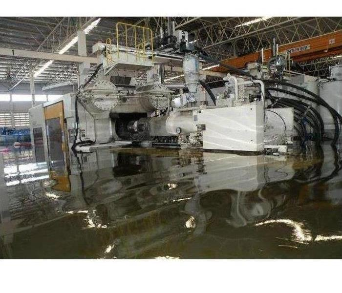 Commercial Keeping Your Nassau/North Jax Plant Open Following Water Damage