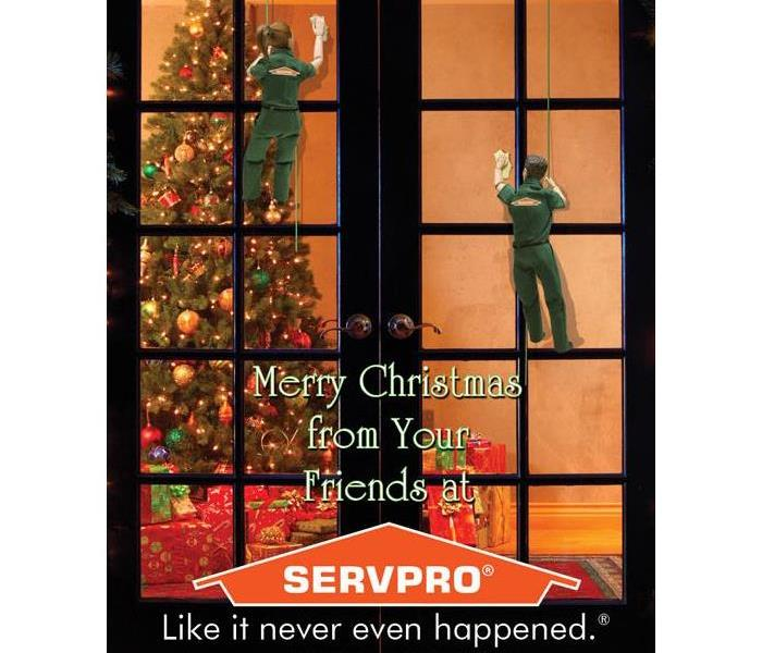 Community Merry Christmas from Your Friends at SERVPRO
