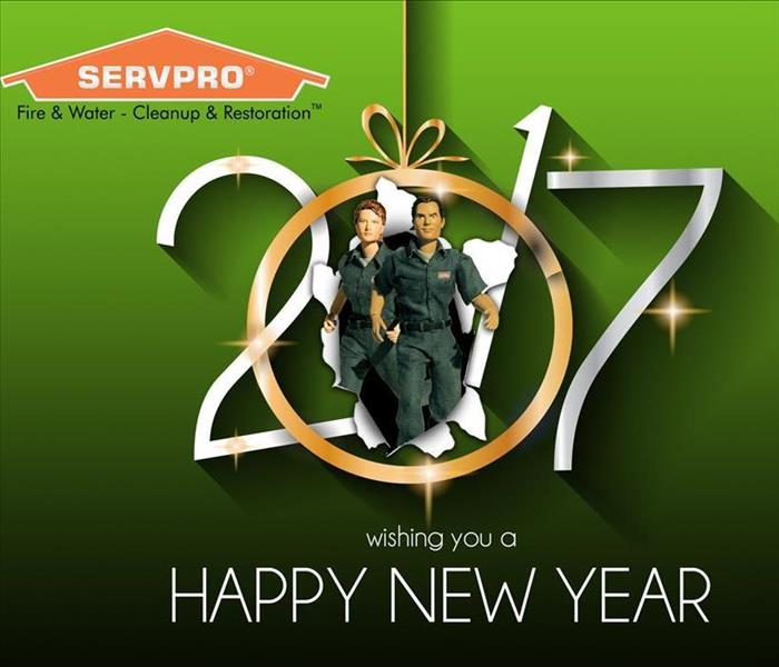 Community Happy New Year from SERVPRO